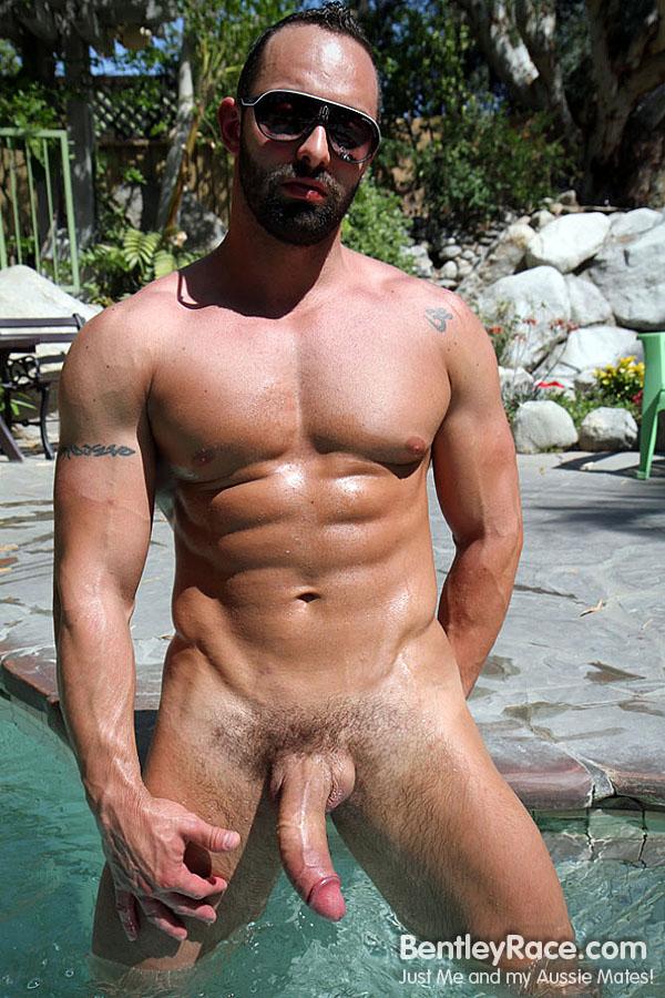 Italian Porn Star Big Cock - big cock muscle outdoors solo brunette italian
