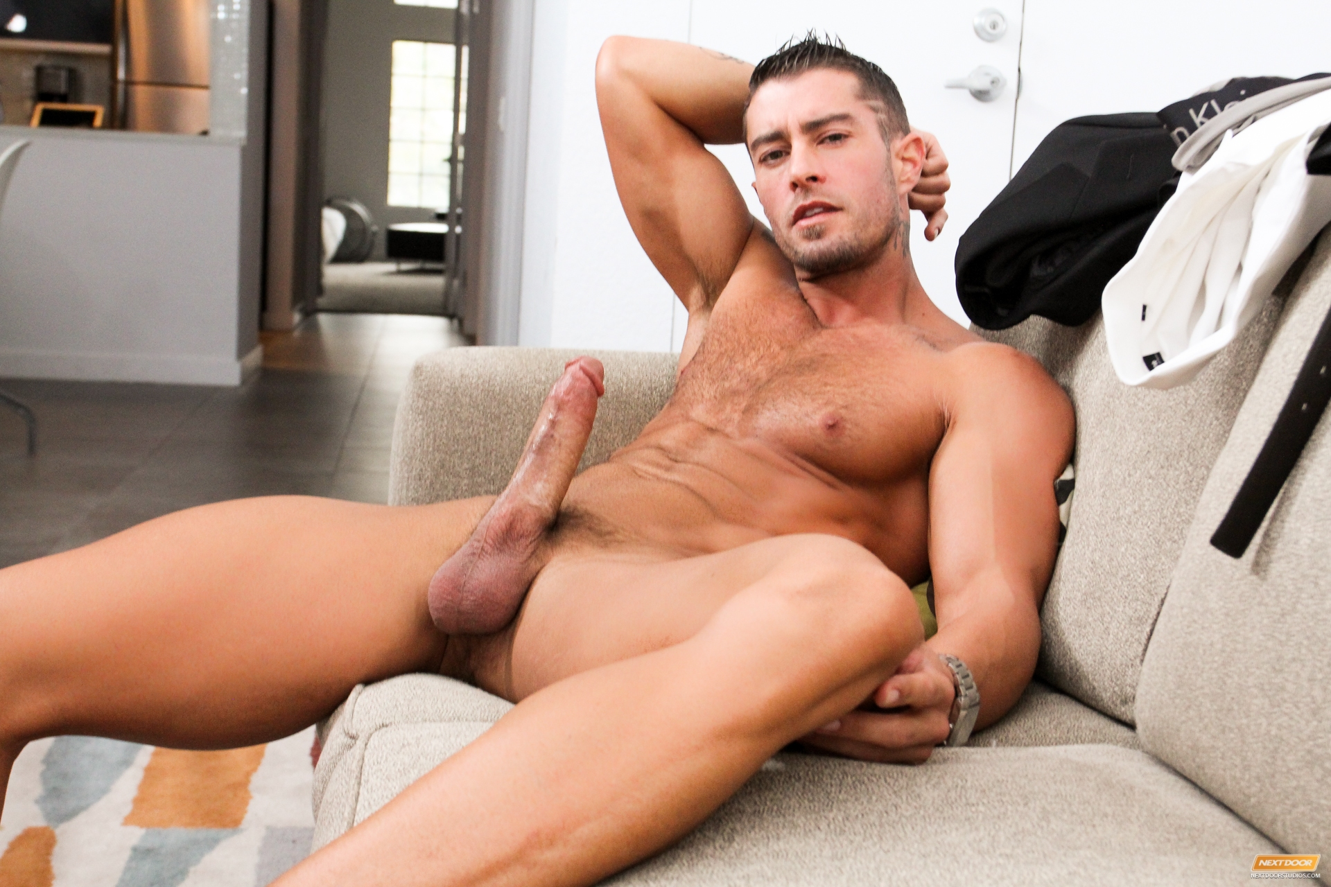 guy with big dick naked gay