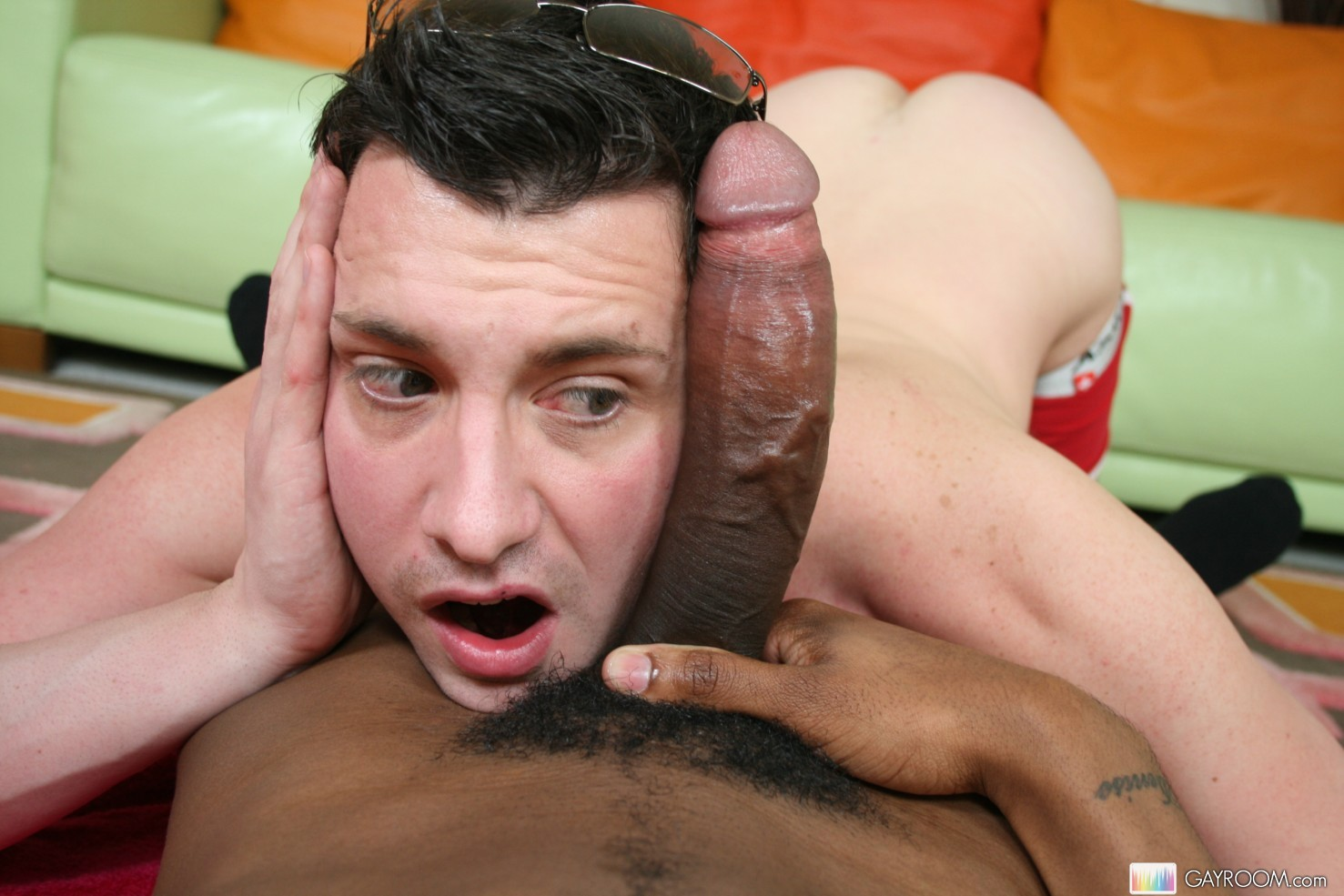 black guys having bareback sex with white trannys