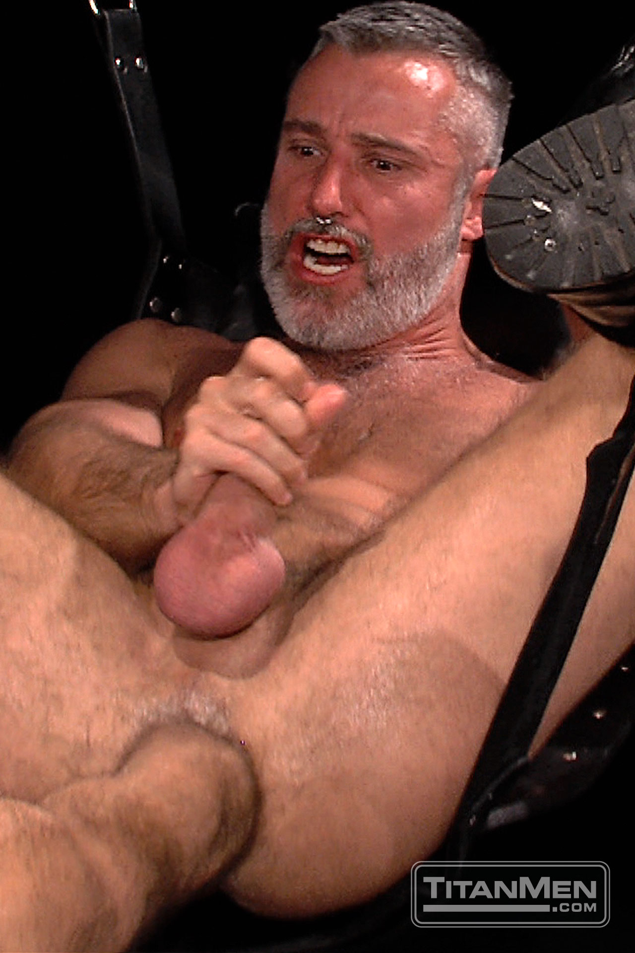 Big dick gay fisting and facial