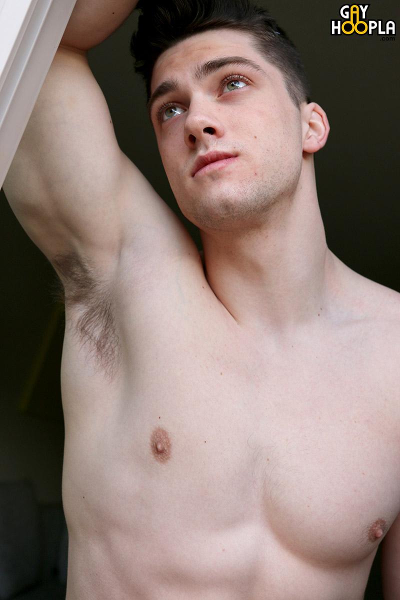 Aden Taylor Myvidster Gay Porn wrestler turned bodybuilder, collin simpson, jerks his big cock
